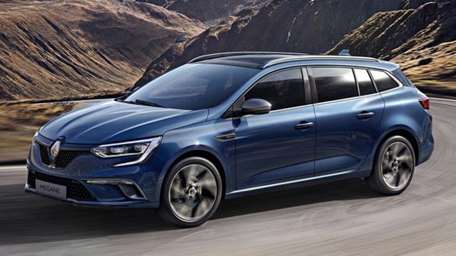 noleggio a lungo termine Renault Megane