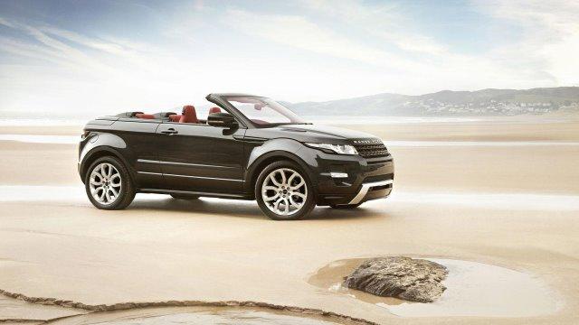 Noleggio a lungo termine Range Rover Evoque Cabrio