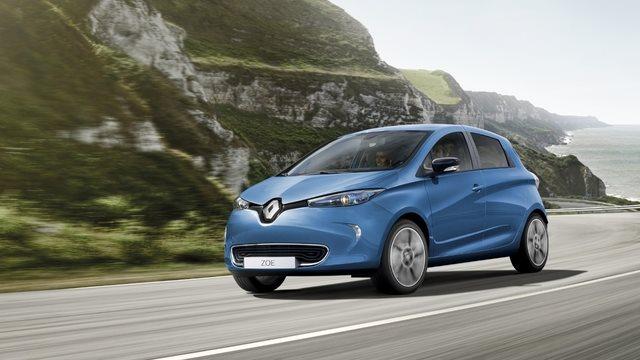 noleggio a lungo termine Renault ZOE