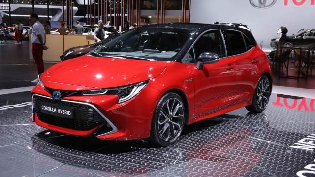noleggio a lungo termine Toyota Corolla Ibrida