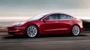 Noleggio a lungo termine Tesla Model 3